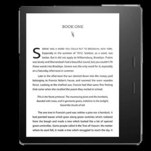 Amazon Kindle Oasis Best waterproof ereader