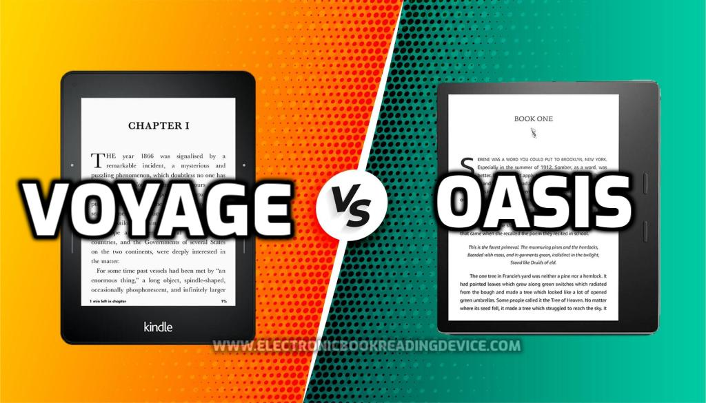 Kindle voyage vs Oasis featured image