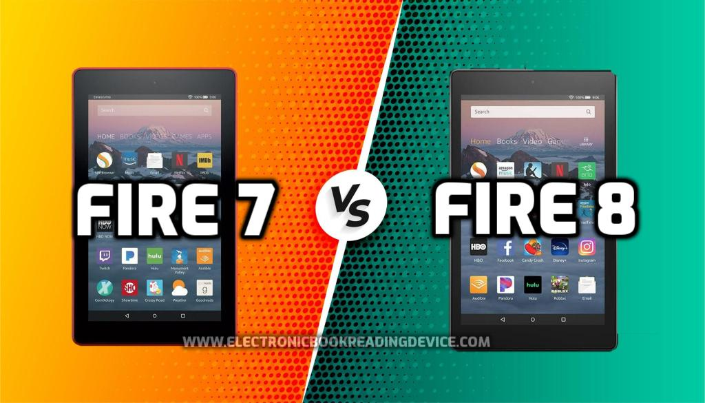 Kindle Fire 7 vs Fire 8 comparison Which Tablet to buy