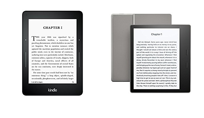 Kindle Oasis vs Kindle Voyage