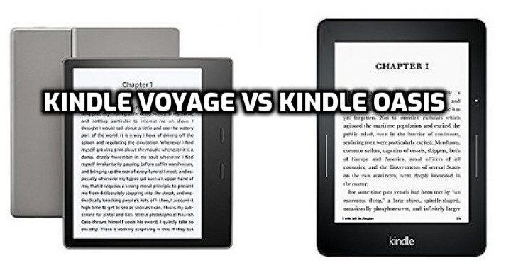 Kindle Voyage vs Oasis