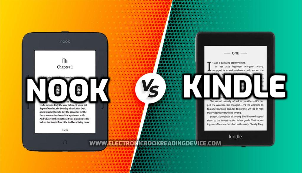Nook vs Kindle (2021) Comparison Which is the best e-reader