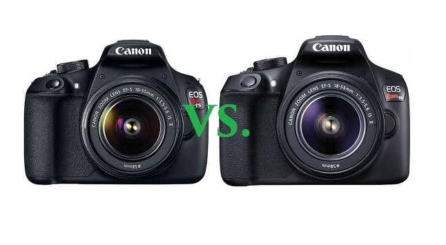 Canon Rebel T5 vs T6