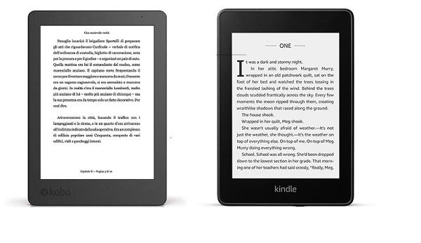 Kobo Aura vs Kindle Paperwhite