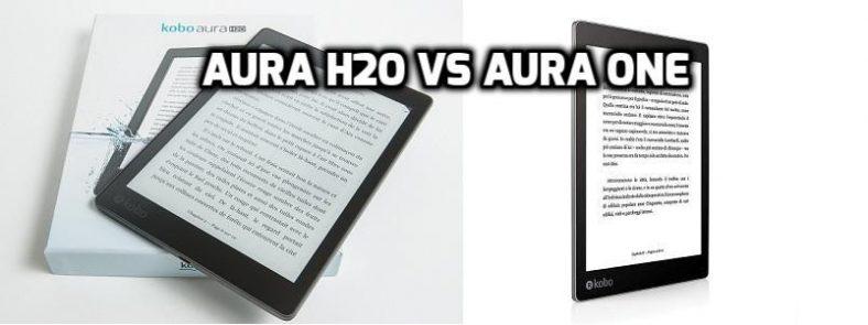 Kobo Aura One vs H2O