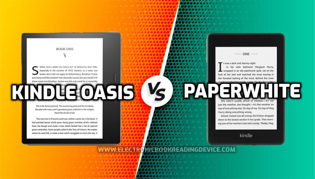 Kindle Oasis vs Paperwhite (2021) comparison Which e-reader is best