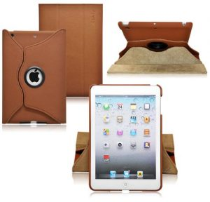 Ionic Rotating Stand Leather Case