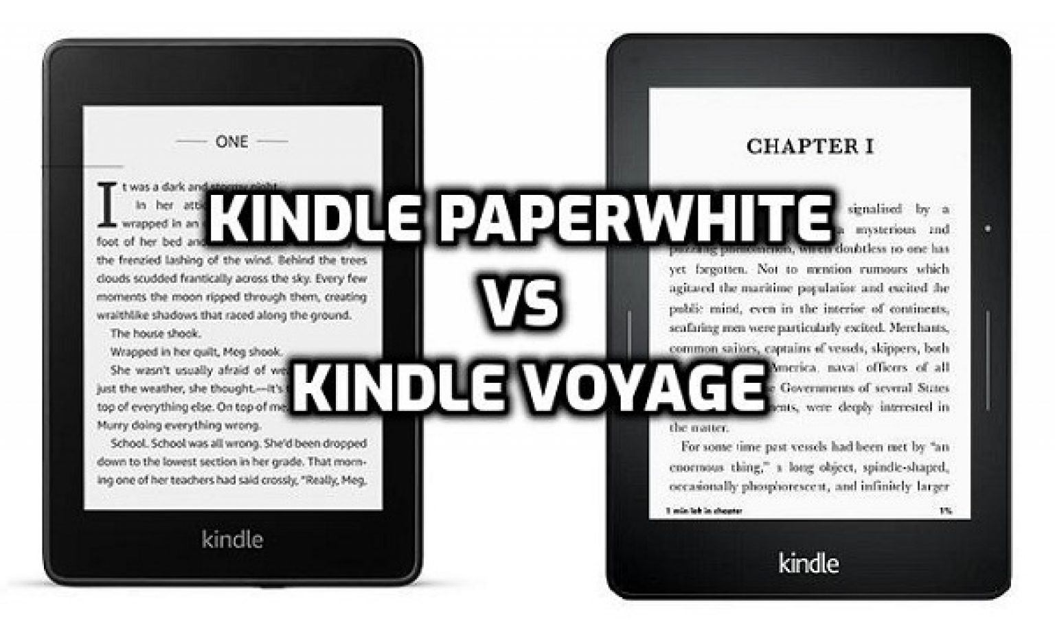 Kindle Paperwhite vs Voyage: Which one to pick? 2021