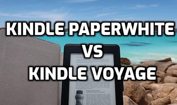 kindle paperwhite vs voyage comparison