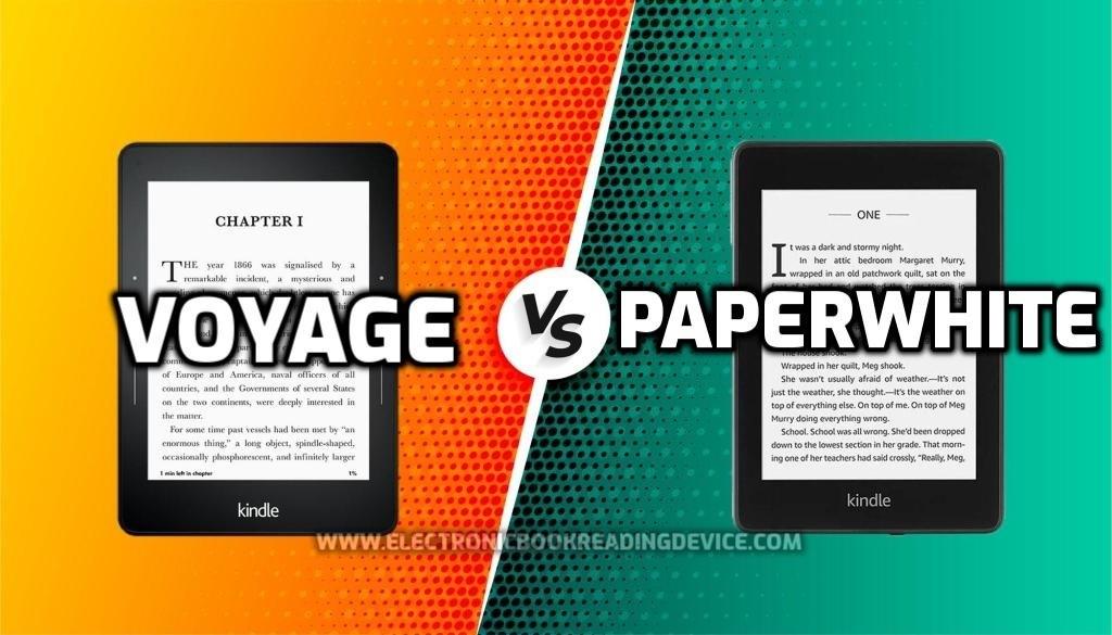 Kindle Paperwhite vs Voyage (2021) comparison: Which e-reader to choose