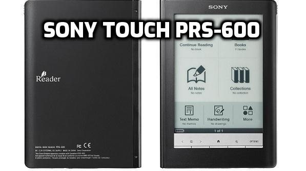 Sony Touch PRS-600