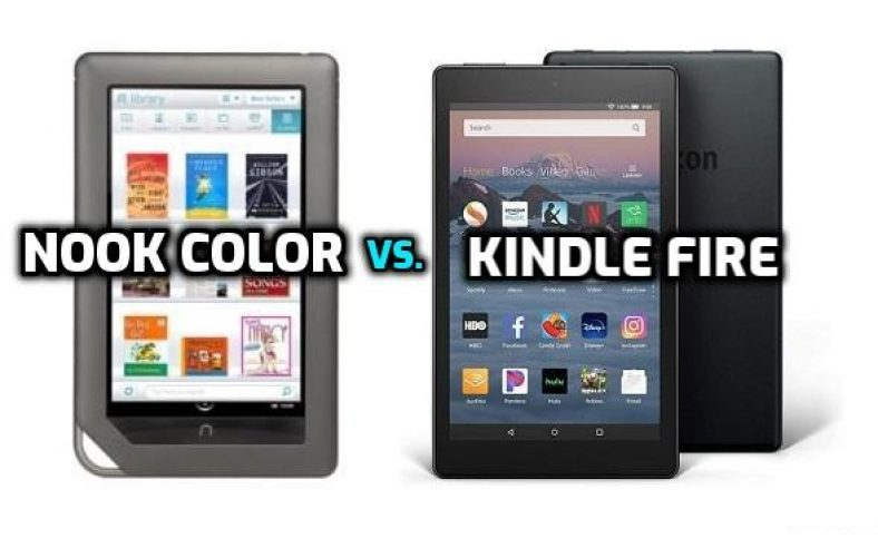 nook tablet vs kindle fire - which one is better?