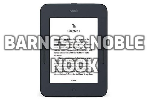barnes and noble nook ebook reader image