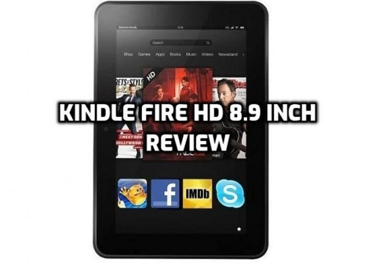 Kindle Fire HD 8.9 inch - Review