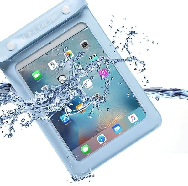 kindle case protecting device from water