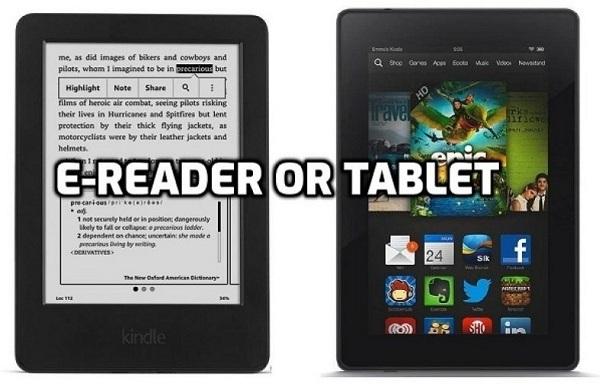 Ereader or Tablet - How to Decide Guide [2021]