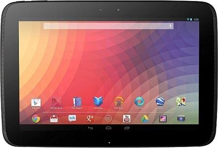Google Nexus 10 - best tablet computers for business