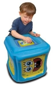 kindle fire inflatable play cube for children