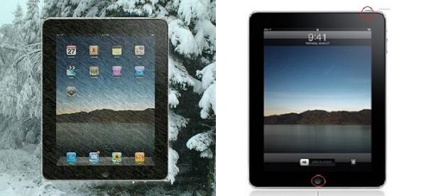 How do i unfreeze my iPad