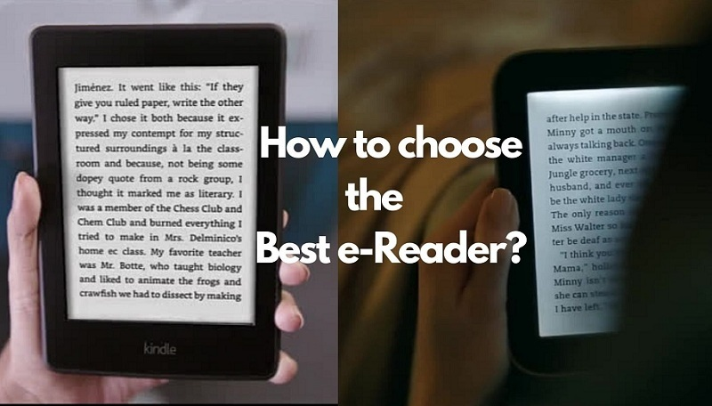 how to choose the best e-reader