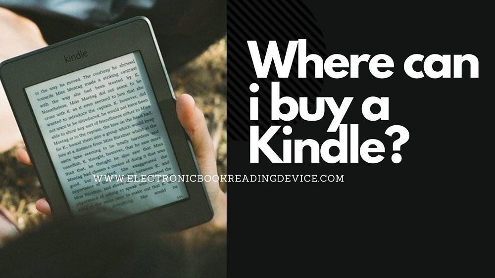 where can i buy a kindle