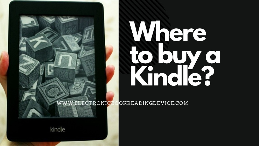 where to buy a kindle
